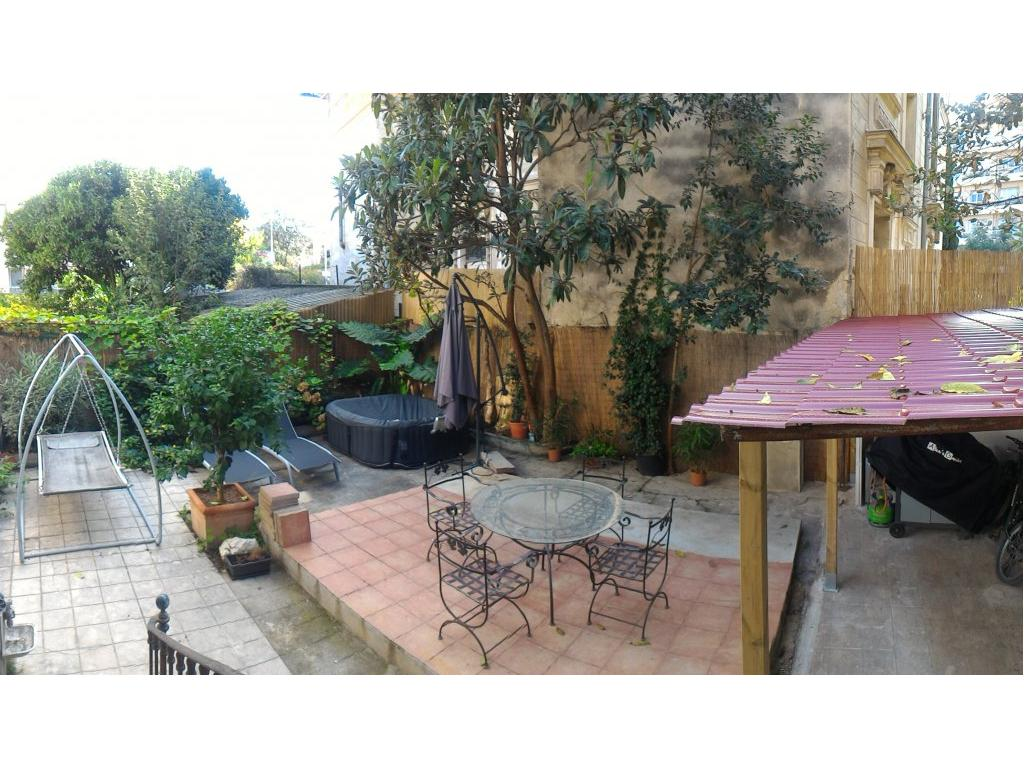 Immobilier appartement nice nice valrose rez de jardin de for Appartement rez de jardin nice